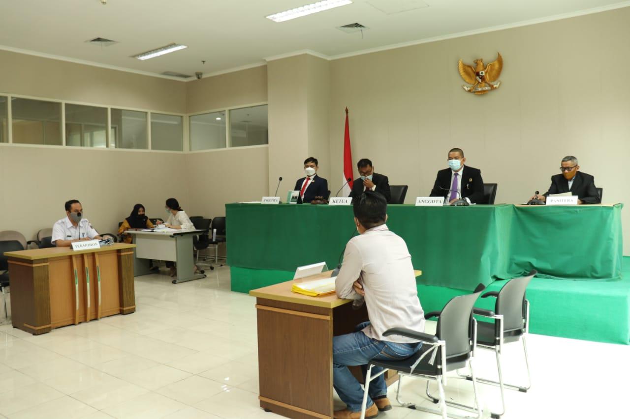 Komisi Informasi DKI Jakarta Lakukan Sidang Ajudikasi Non-Litigasi