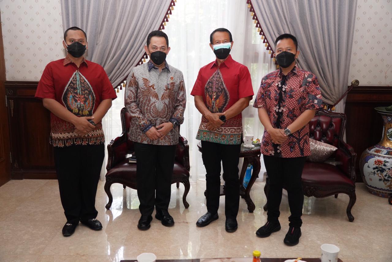 Tradisi dan Bentuk Penghormatan, Komjen Listyo Sigit Silaturahmi ke Mantan Kapolri