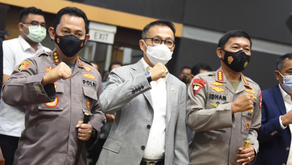 Tok… Komisi III DPR Mufakat Setujui Listyo Sigit Prabowo Sebagai Kapolri