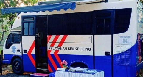 Simling dan Gerai Satpas SIM Polda Metro Jaya Hari Ini