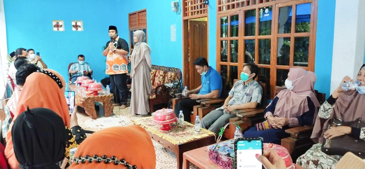 Tim Pemenangan Bupati Maros Terpilih Hati Kita Keren Kecamatan Mandai, Lakukan Syukuran