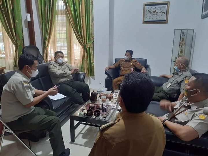 Dinas Perkebunan & Peternakan Kabupaten Lampung Barat Terima Kunjungan Bapeltan Propinsi Lampung
