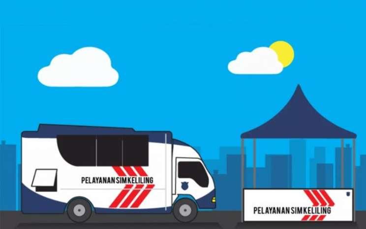 Ingat ..!! Ini Layanan SIM Keliling Wilayah DKI Jakarta, Rabu 27 Januari 2021