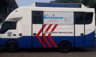 Simak..! Ini Layanan SIM Keliling Wilayah DKI Jakarta, Jumat 29 Januari 2021