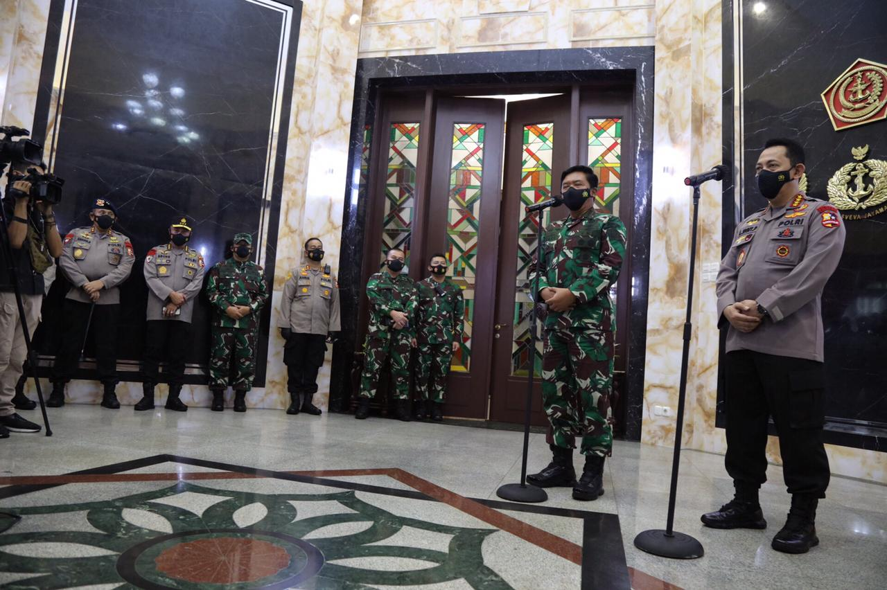Meningkatkan Sinergitas dan Soliditas, Kapolri Silaturahmi ke Panglima TNI