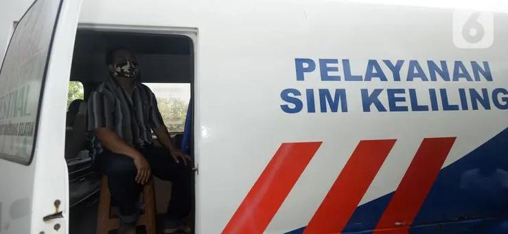 Tetap Buka 2 Lokasi SIM Keliling di DKI Jakarta, Minggu 17 Januari 2021