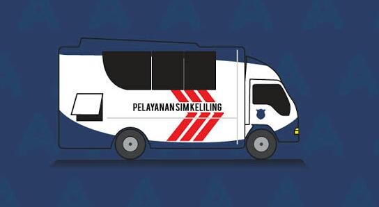 Layanan SIM Keliling Wilayah DKI Jakarta, Senin 25 Januari 2021