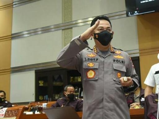 Komjen Listyo Sigit Prabowo Dijadwalkan Lusa Dilantik PresidenMenjadi Kapolri