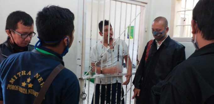 Fikri Salim, Mantan Suami Siri Prof dr.Lucky Azizah Bawajir Dituntut 18 Tahun Penjara
