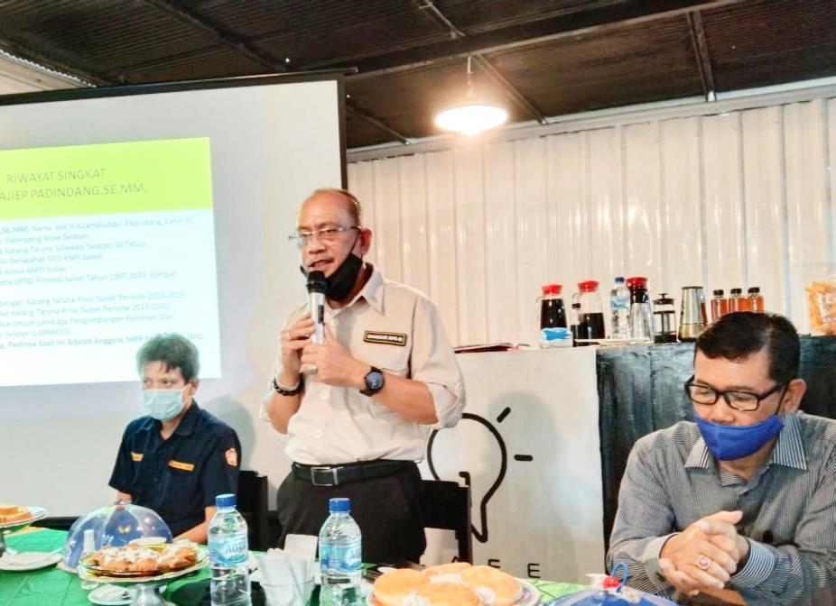 Anggota MPR RI, Ajiep Padindang Tanamkan Nilai-Nilai Kebangsaan Pada Tokoh Pemuda.