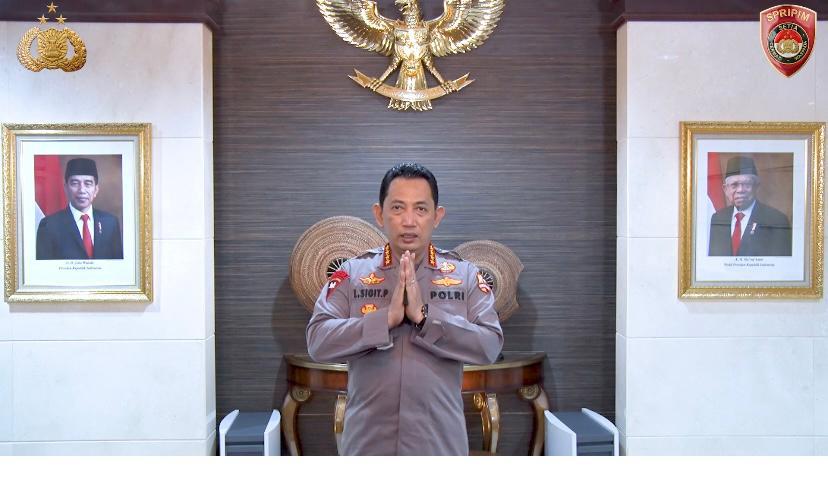 HPN 2021, Kapolri Minta Pers Mencerahkan Masyarakat Indonesia Dalam Memberikan Informasi