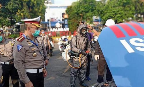 Ditlantas Polda Metro Siapkan Drive Thru Tes Swab Antigen Gratis di Tol Jakarta Cikampek KM 19