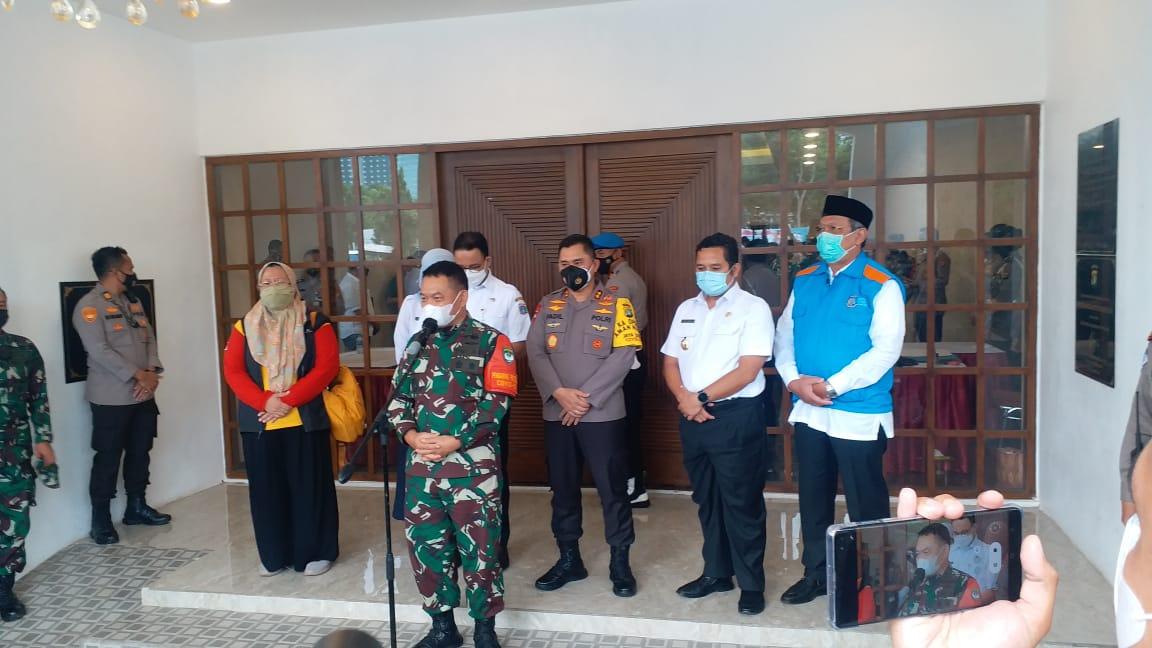 Kapolda Metro Tawarkan Program Kampung Tangguh ke Pemerintah di Rapat Koordinasi Bahas PPKM