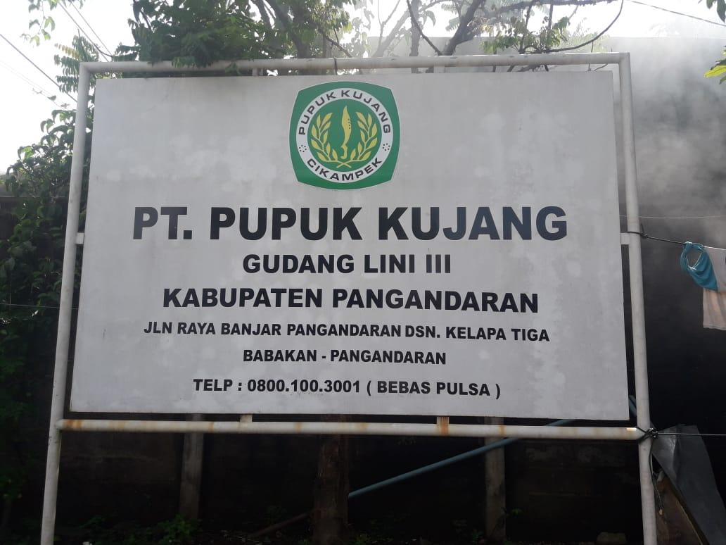 Pupuk Bersubsidi Untuk Wilayah Kabupaten Pangandaran Maret- April Aman