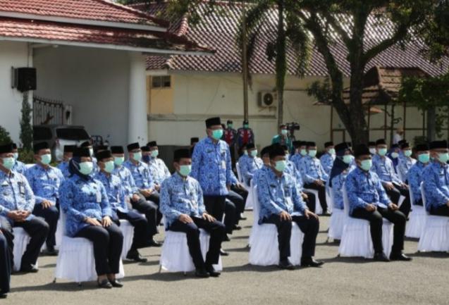 Sebanyak 139 Pejabat Cilacap Dilantik dan Diambil Sumpah Jabatan