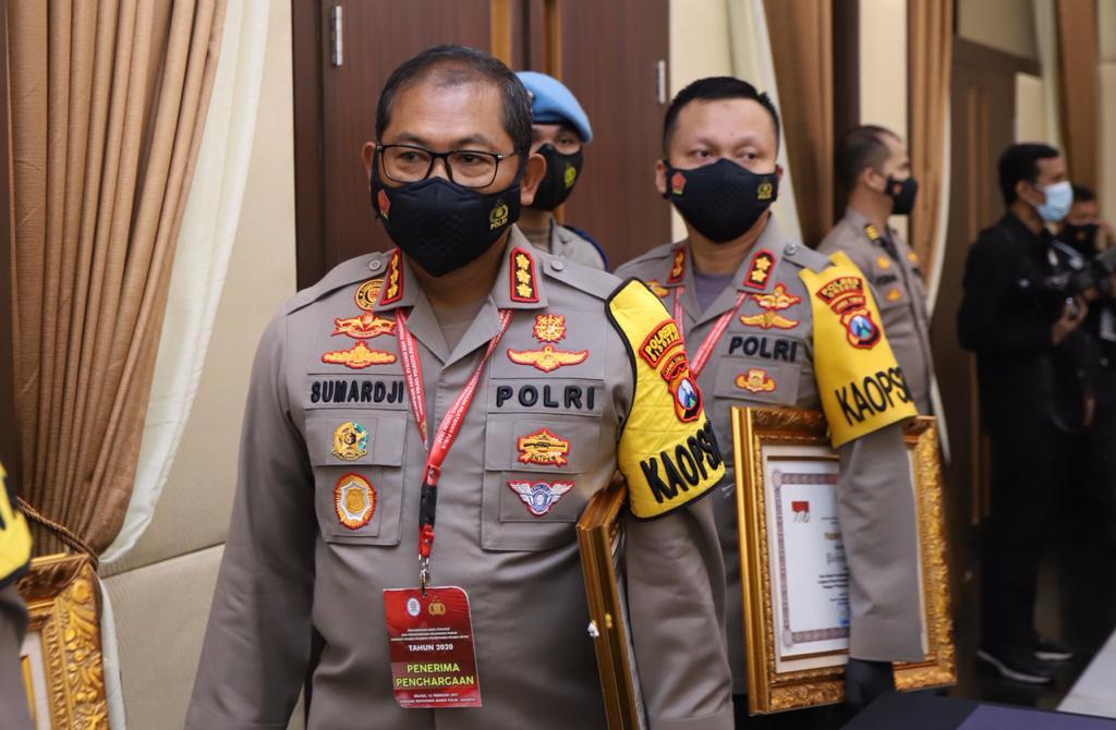 Polres di Jawa Timur Berhasil Pertahankan Predikat Pelayanan Prima