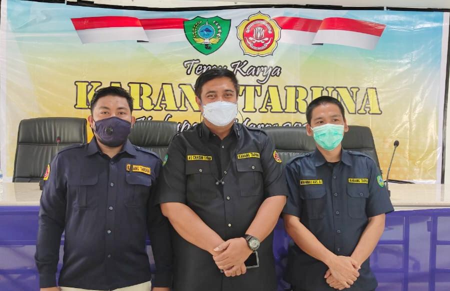 14 Ketua Kecamatan Solid Dukung Agus BJ, Pimpin Karang Taruna Maros Secara Aklamasi.