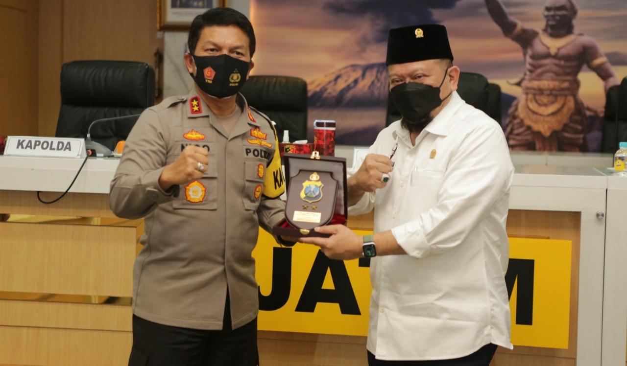 Kapolda Jatim Menerima Kunker Ketua DPD RI