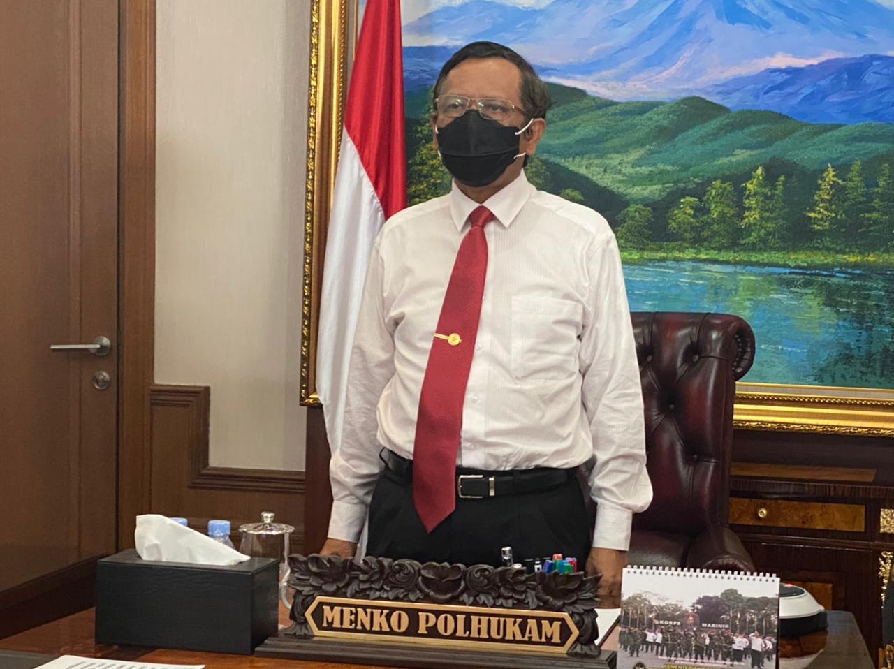 Perubahan UU ITE, Menko Polhukam: Jangan Alergi Terhadap Perubahan