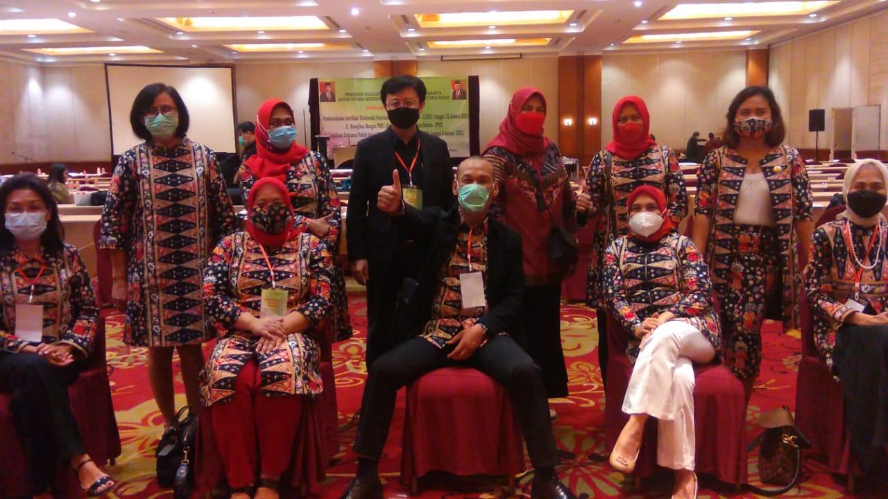 Pengurus Wilayah Daerah INI dan IPPAT DKI Jakarta Adakan Seminar Hukum Terkait Sertifikat Elektronik
