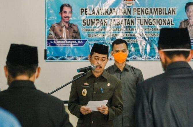 P2UPD Kabupaten Pesisir Barat Telah Dilantik Plh Bupati