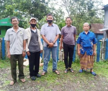 Kapolsek Camba Terus Aktif Mencari Lokasi Pembangunan Kantor Polsek Kecamatan Cenrana Kabupaten Maros