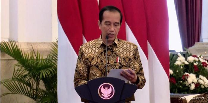 Presiden Jokowi: Pemerintah Meringankan Industri Media Melalui Sejumlah Kebijakan PPh 21