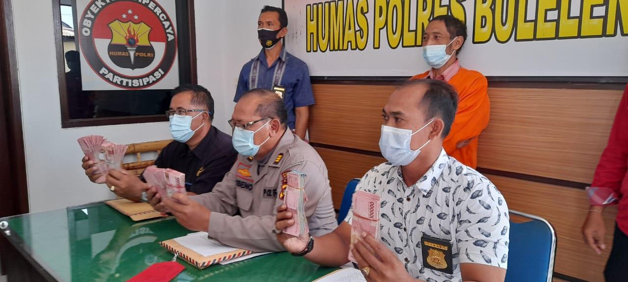 Ketua BumDes Tirtasari Tilep Keuntungan, Akibatnya Ditahan Polres Buleleng