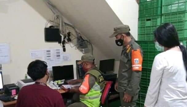 Langgar Prokes, 5 Kantor di Wilayah Kelurahan Pegadungan Diberi Teguran Tertulis