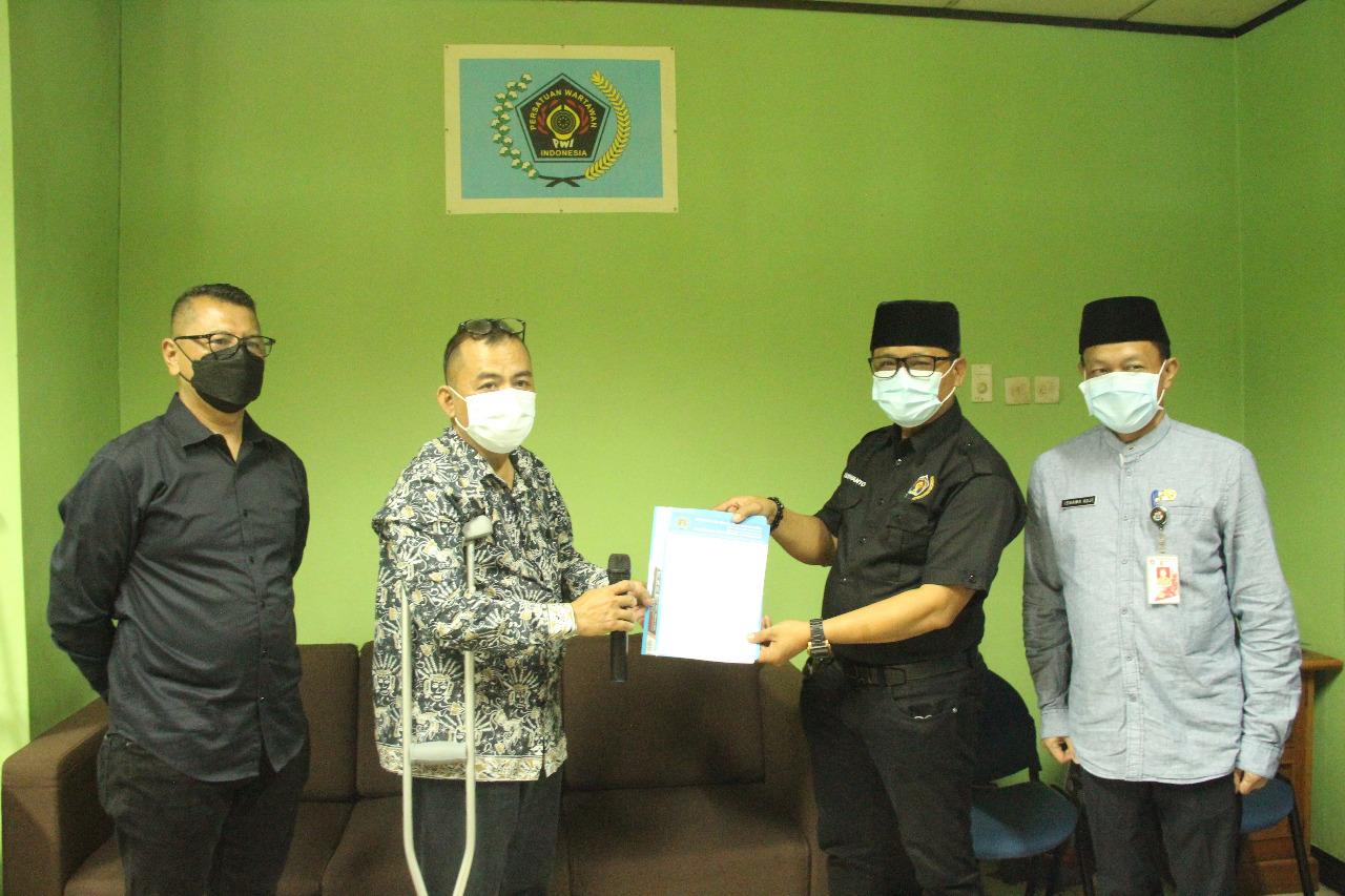 Pengukuhan Pengurus Koordinatoriat PWI Jakarta Selatan