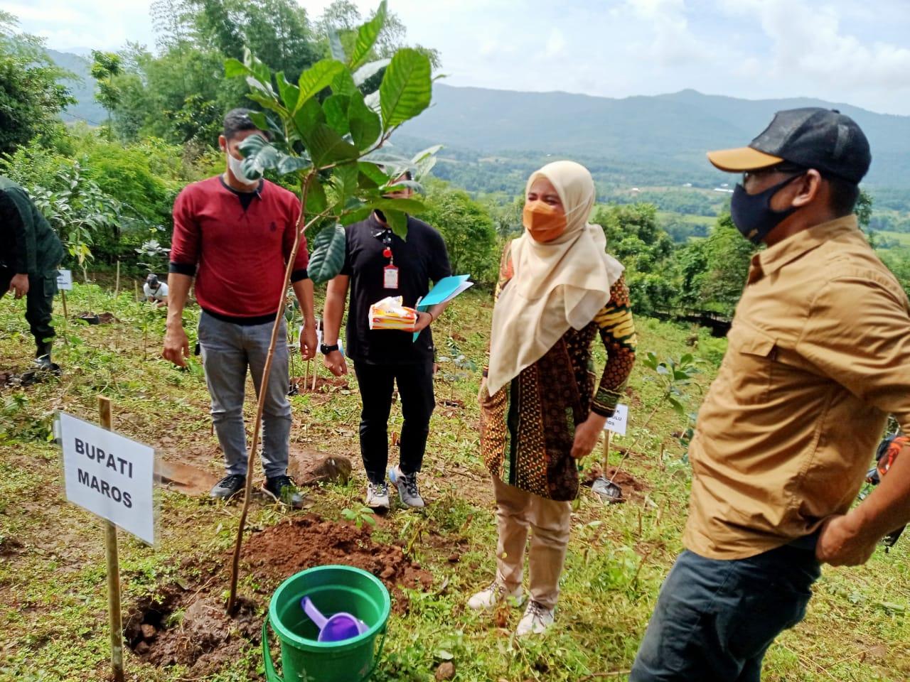 Hari Bakti Rimbawan Ke-38 Tahun 2021 Dipusatkan di Kecamatan Tompo Bulu