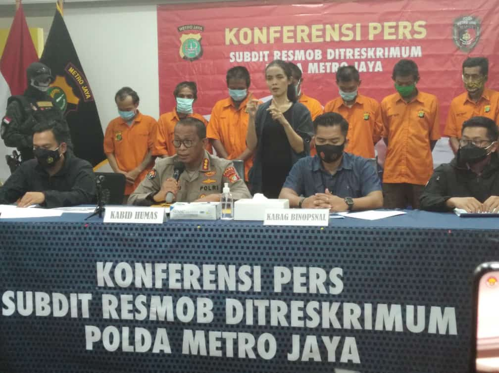 Polisi Gadungan Peras Mucikari Diringkus