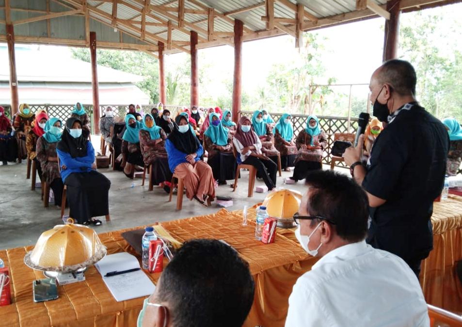 Anggota MPR RI, Ajiep Padindang Sosialisasi 4 Pilar ke Kader Pemberdayaan Masyarakat Desa