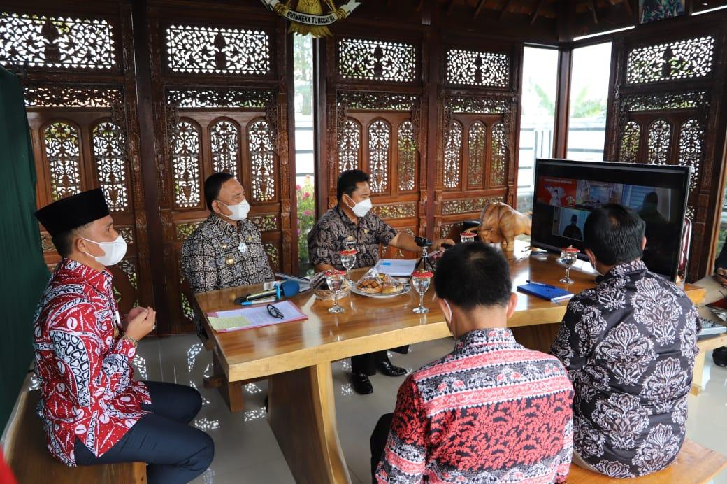 Penyerahan Dokumen LKPD Lambar 2020 Kepada BPK RI Provinsi Lampung