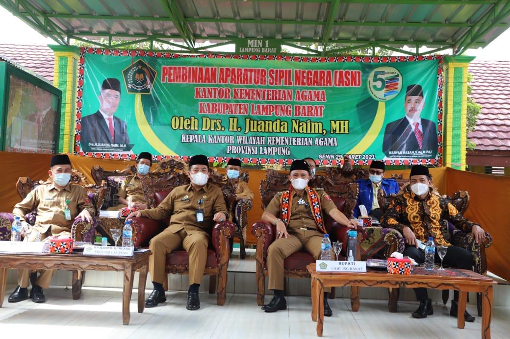 Pembinaan ASN Kemenag Lampung Barat