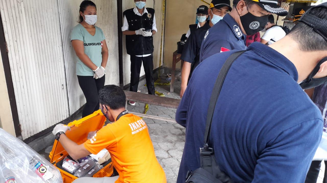 Polda Bali Datangkan Labfor Olah TKP Mengungkap Kematian Mintan