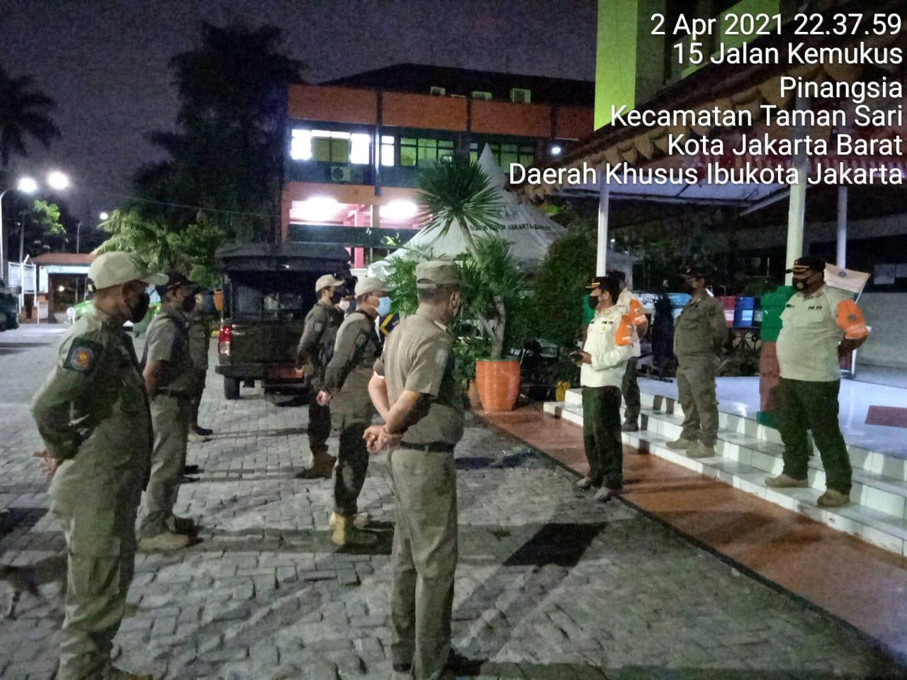 Satpol PP Kec.Tamansari, Gencarkan Operasi Malam Hari di Kawasan Mangga Besar