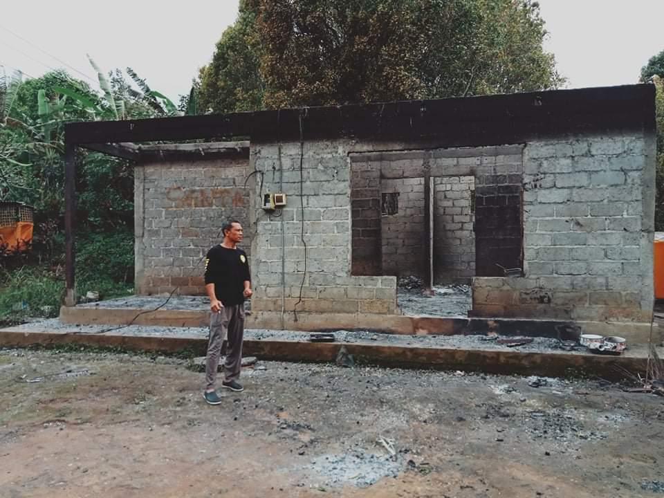 Sijago Merah Melahap Rumah Warga Buleleng yang Ditinggal Melayat
