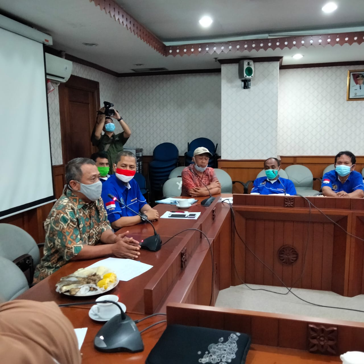 Seko Pemkot Jakarta Selatan Terima Audiensi Pengurus PWI Jakarta Selatan