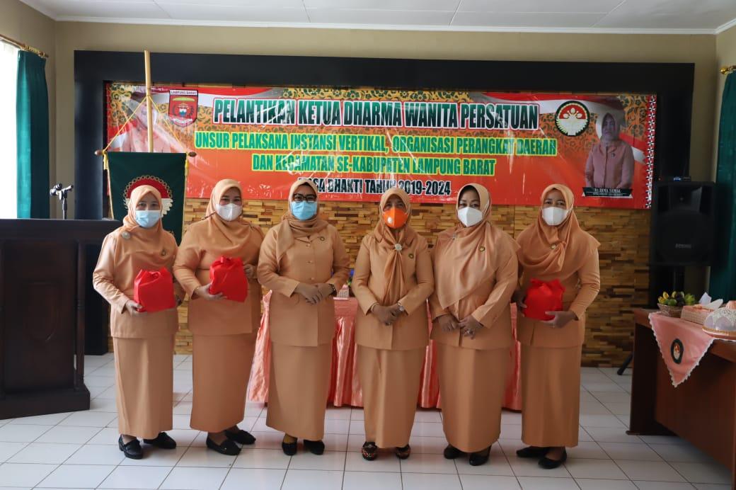 Pelantikan Ketua DPW Unsur Pelaksana Instansi Vertikal OPD dan Kecamatan Se-Kab.Lambar
