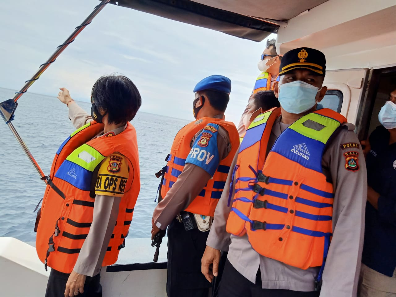 Kapolres Karangasem AKBP Suartini Pimpin Patroli Antisipasi Radikalis Jalur Laut
