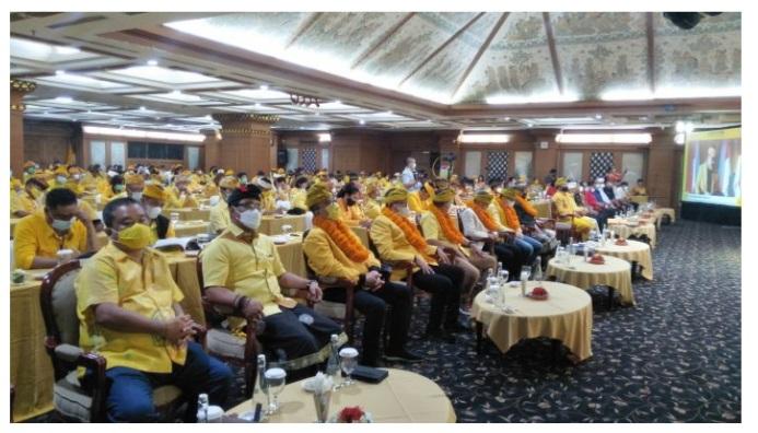 Rakerda dan Rapimda Golkar Bali Rumuskan Berbagai Program Pro Rakyat