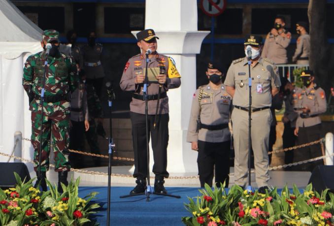 Cegah Ganguan Kamtibmas, Polda Metro Jaya Gelar Apel Operasi Keselamatan Jaya 2021