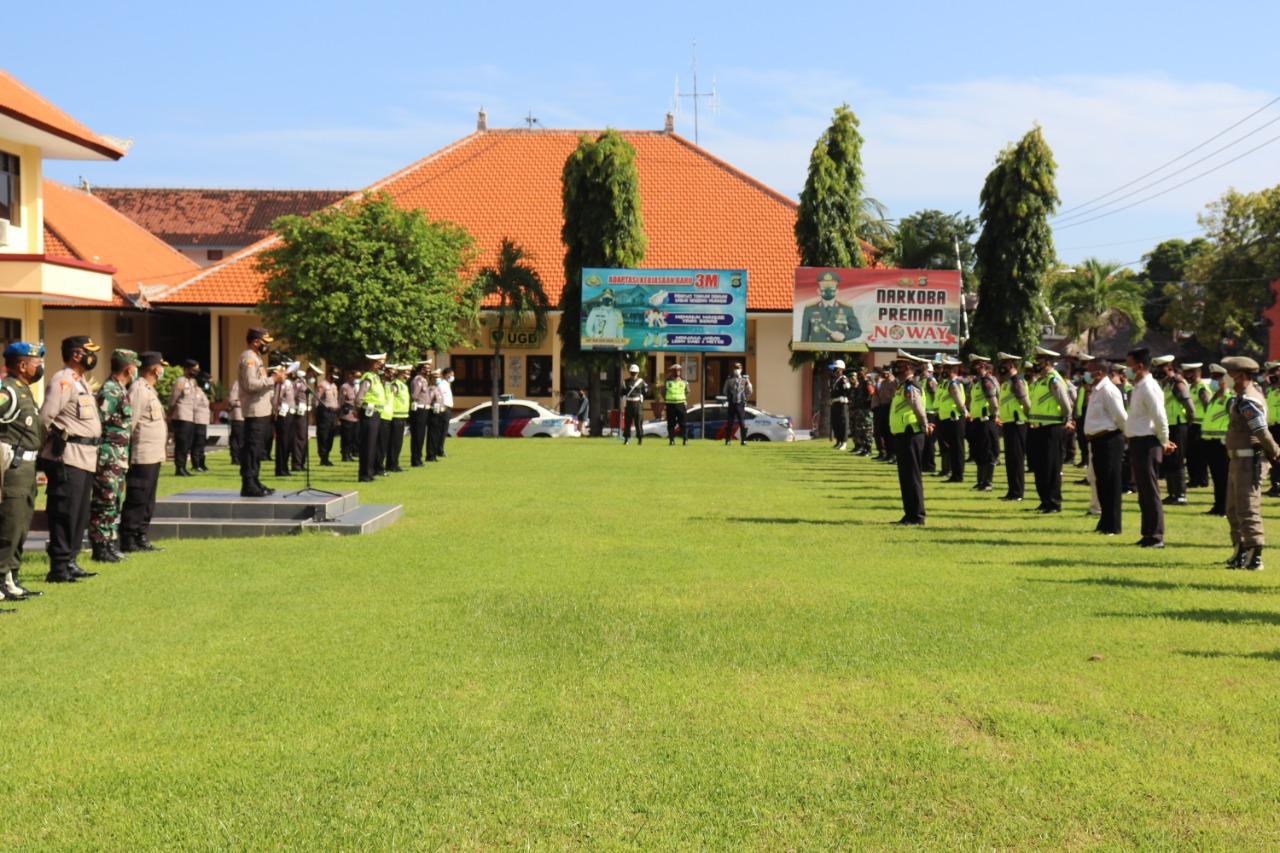 Terwujudnya Disiplin Berlalulintas, Polres Buleleng Gelar Operasi Agung 2021