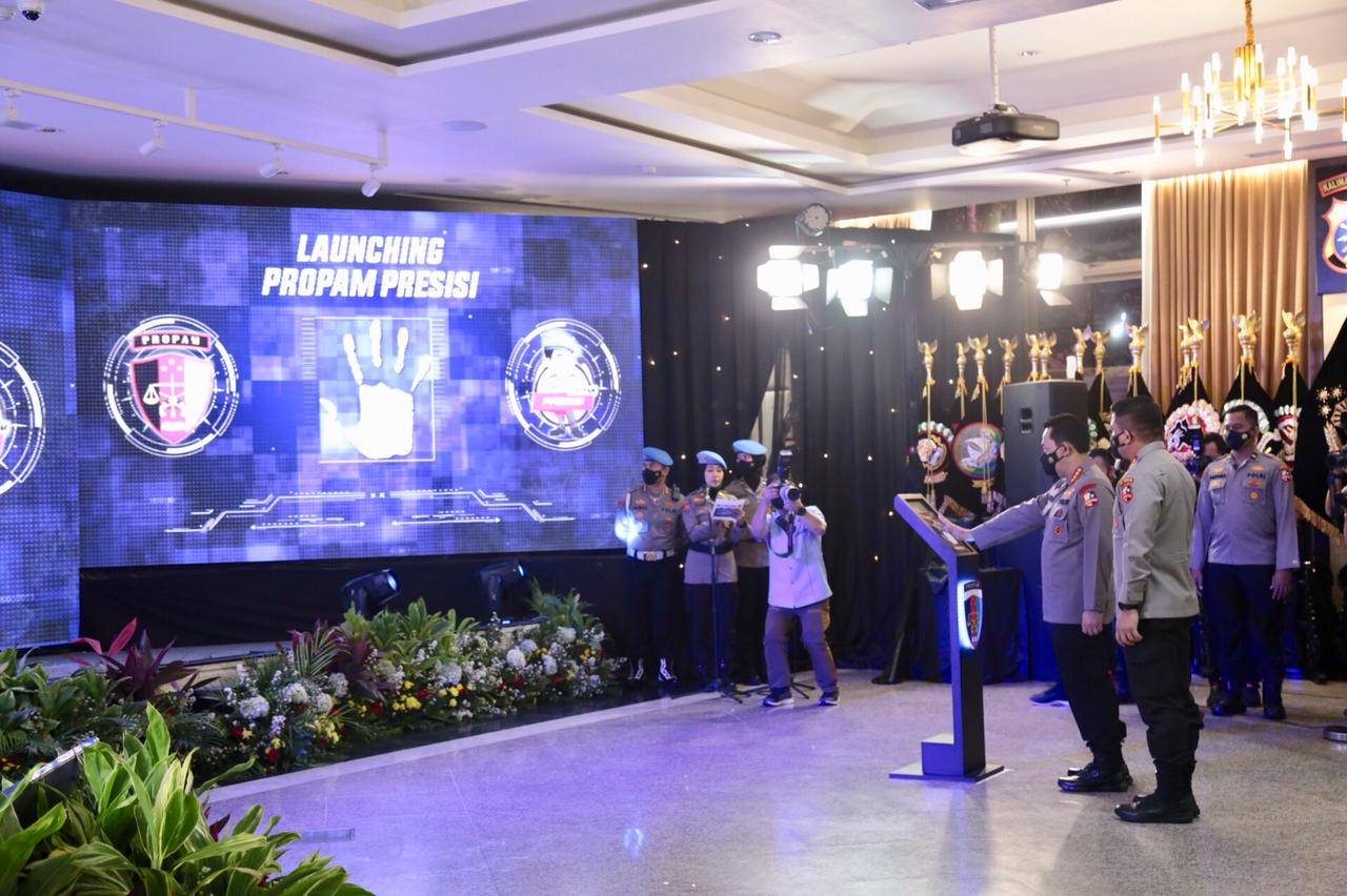 Buka Rakernis, Kapolri Launching Aplikasi Propam Presisi