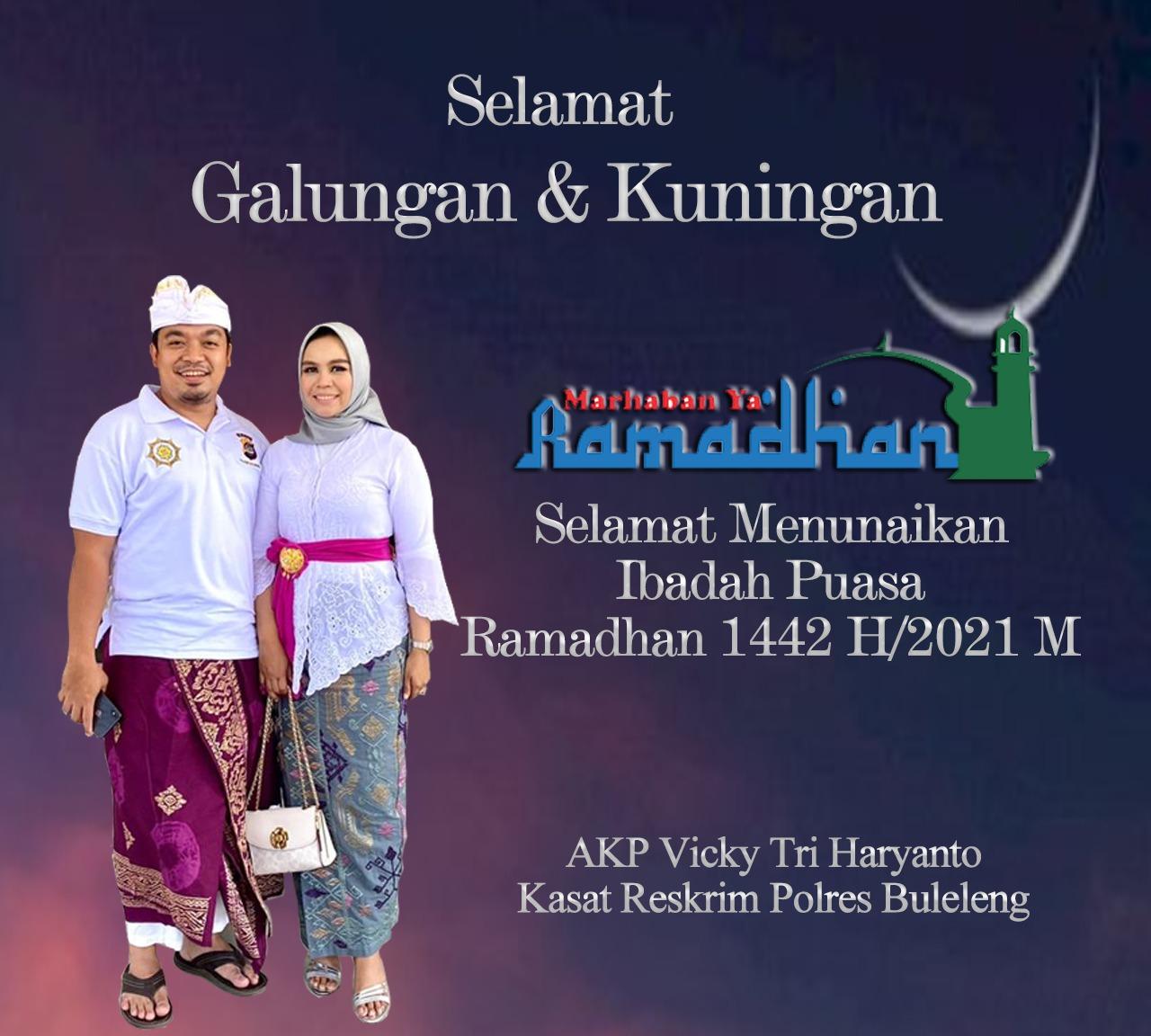 Marhaban ya Ramadhan 1442 H/2021 M, Selamat Menunaikan Ibadah Puasa