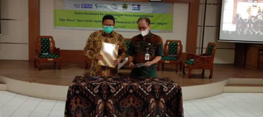 Perlindungan AKP, PLAN Indonesia Bersama DKP Jawa Tengah Perkuat Fishers' Center