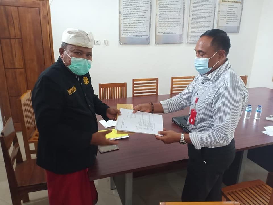 Tanah Milik Ketut Paang di PTSL tahun 2018, Ahli Waris Somasi Jro Pasek Ketut Warkadea