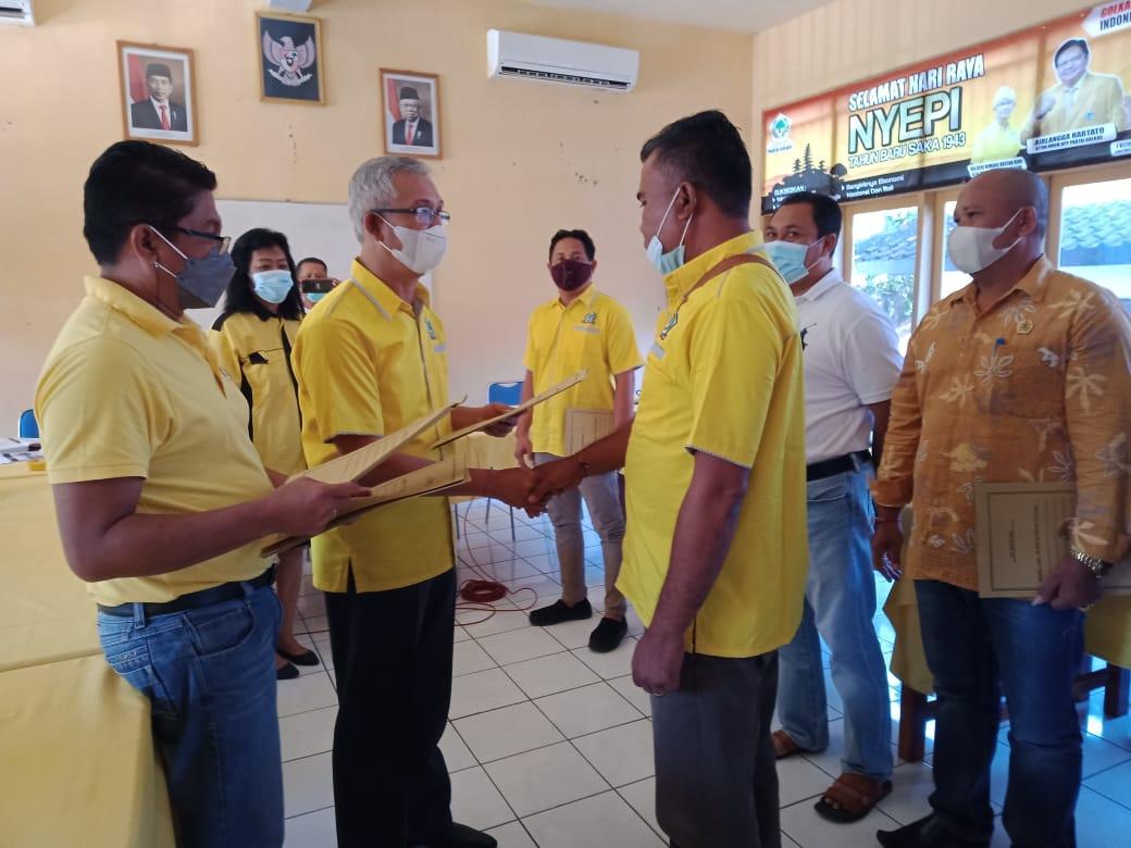 Calon Bupati Dalam Pilkada 2024 Golkar Buleleng Bicarakan Dalam Musdes