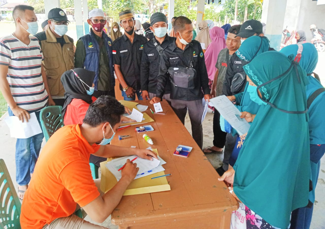 Warga Kecamatan Bontoa Kabupaten Maros Kembali Terima BST